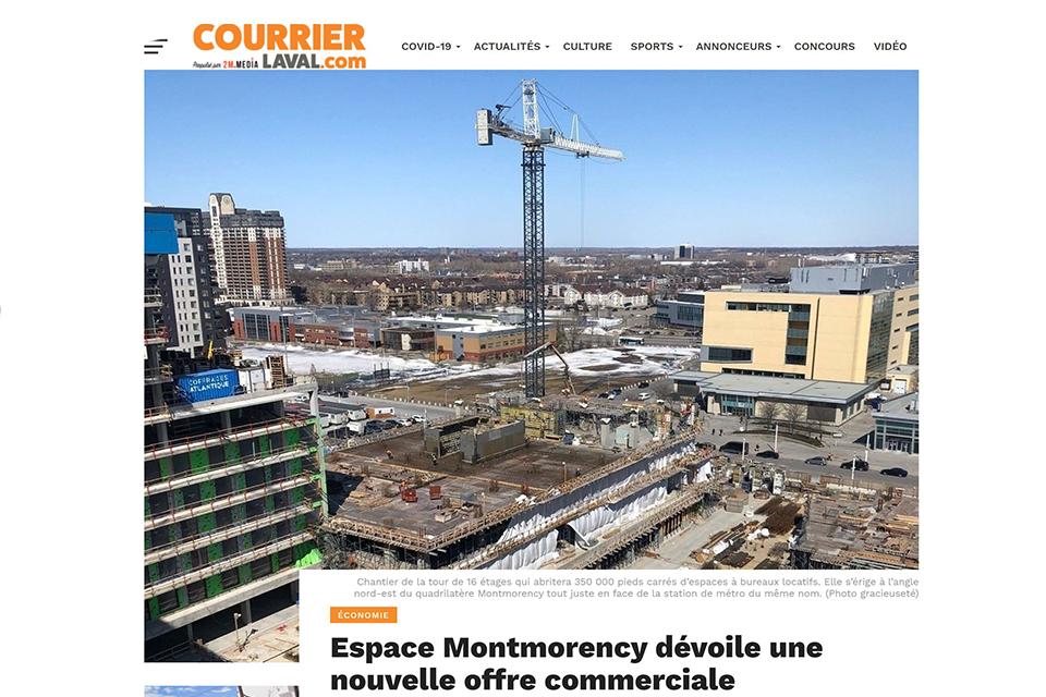 Espace Montmorency dévoile une nouvelle offre commerciale